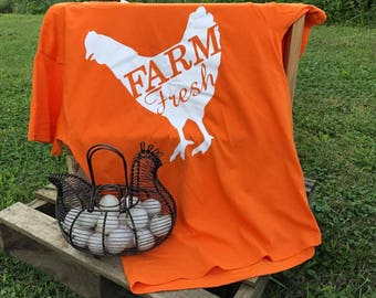 Farm Fresh Chicken Shirt