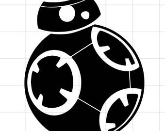 BB-8 car decal