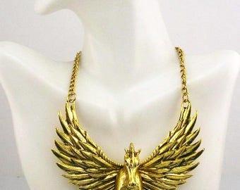 """Chico's  Pegasus Necklace  14""""  2"""" ext."""