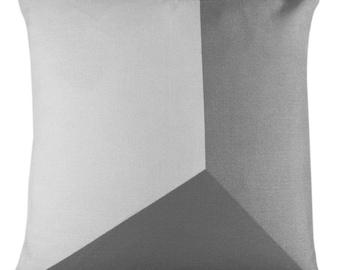 Grey Pattern Cushion