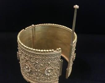 ancient gold bangle