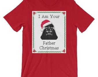 Darth Vader X-Mas Unisex T-Shirt