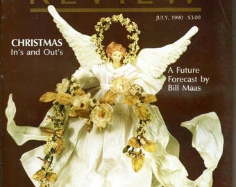 Summer Sale Florists' Review Magazine July 1990 Christmas In's and Out's
