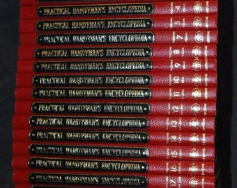 Summer Sale The Practical Handyman's Encyclopedia's 1968 Set 1-22 (Minus Vol.6)