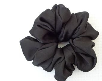 Scrunchies,scrunchie, scrunchy, black  scrunchie hair scrunchies, chouchou hair accessories handmade scrunchies
