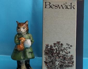 Beswick Beatrix Potter ~ SIMPKIN, BP-3b With Original Box ~ Very Rare, Perfect Condition (S175)