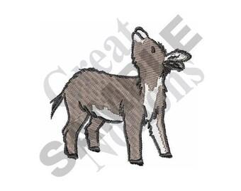 Little Donkey - Machine Embroidery Design