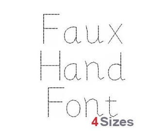 Hand embroidery font | Etsy