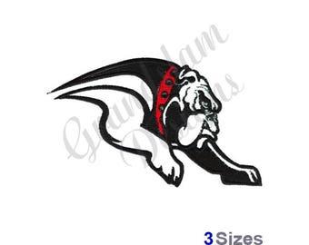 Bulldogs - Machine Embroidery Design
