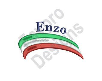Enzo - Machine Embroidery Design