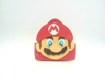 Super Mario Brothers Mario Candy Bag