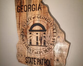 Georgia State Patrol Sign
