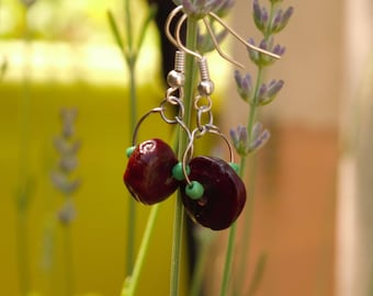 Tamarind seed earrings