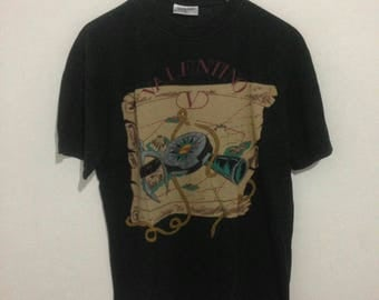 Vintage Valentino Unique Desain T-Shirt not versace fendi gucci chanel