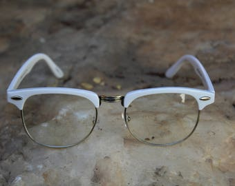 1980s Vintage Semi-Rimless generic glasses
