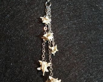 Snake vertebrae necklace