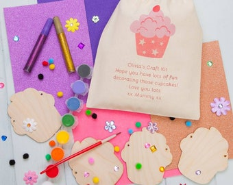 Personalied Make Your Own Cupcake Bunting Kit