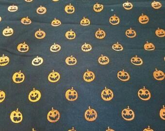Baby and Toddler leggings- Halloween Metallic Pumpkins!