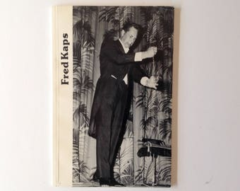 Fred Kaps - Paperback Book Edited by Stephen Minch - Anecdotes - Magic Tricks - Lectures - 1988