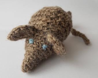 Crochet Cat Toy / Crochet Mouse Cat Toy/ Crochet Rat Toy