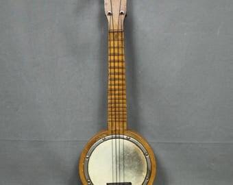1930's Schoenhut Liberty Bell Soprano Banjolele