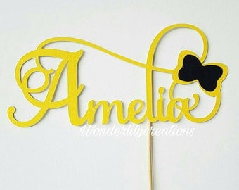 Personalised Name Cake Topper