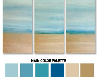 Coastal Painting, Coastal Wall Art, Coastal Decor Beach, Coastal Art, Canvas Art, Paintings On Canvas, Beach Art, Beach Decor Coastal