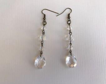 dangle earring,light weight earring,earrings,long earring,bronze earring,earrings,earring,bronze earring