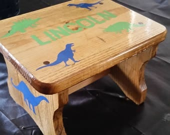 Personalized Kids Stool