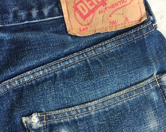 Denime Jeans Red Selvedge Line