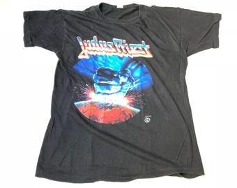 Judas Priest - Ram It Down - Europe 1988 - Original Vintage tourshirt