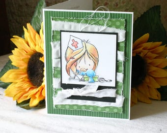 Patch Me Up Get Well Greeting Card