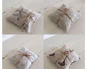 Linen lavender parcel