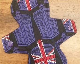 "8"" Doctor Who Tardis cloth pad"