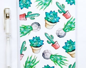 Cosmic Succulents - Greeting Card