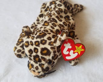 Ty Beanie Baby 1996 FRECKLES the Leopard Excellent Condition