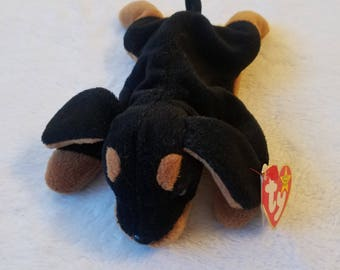 Ty Beanie Baby DOBY The Dog EXCELLENT CONDITION