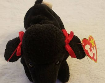 Ty Beanie Baby GiGi The POODLE Dog Excellent Condition