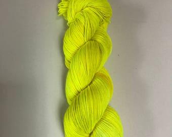 Lightning Bolt Scar - Harry Potter inspired hand-dyed yarn