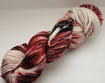 Black Magic - DK Desire hand dyed yarn – Superwash Merino