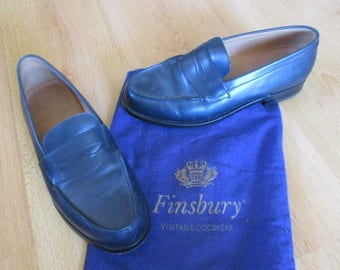 Moccasins College FINSBURY blue size 42 in-60%