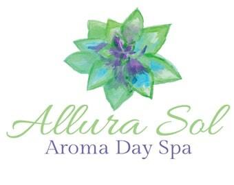 Succulent logo, custom logo, premade logo, spa logo
