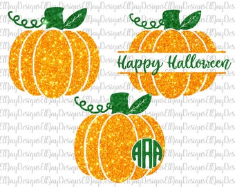 Pumpkin svg, pumpkin monogram svg, fall svg, halloween svg, monogram frame svg, fall monogram svg frame, silhouette came svg, cricut files