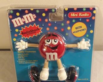 Vintage Radio Shack M&M AM/FM Radio