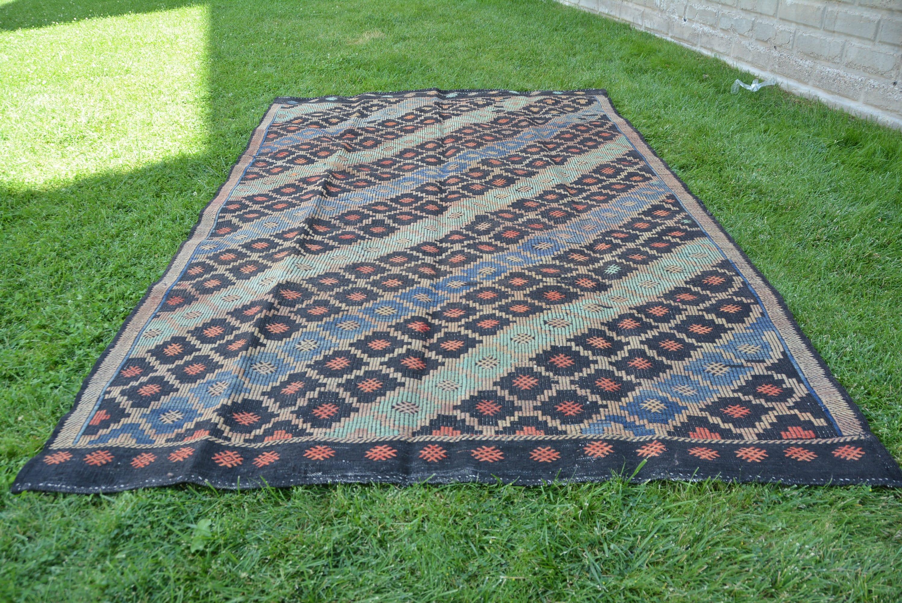 7 X 11 Kilim Rug Tureckij Kover Turkish Rug Kilim Anatolian Kilim