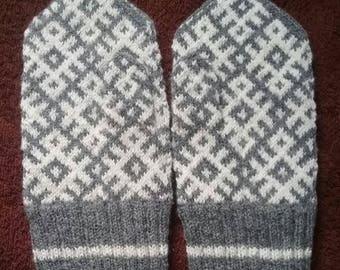 wool mittens , mittens for men , grey mittens , knitted mittens , mittens , wool gloves , gloves for men