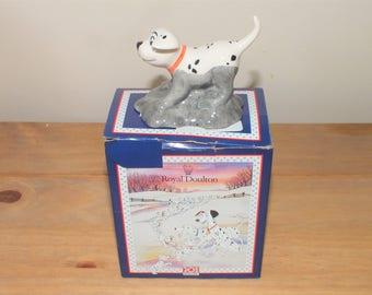 Cute Royal Doulton Disney 101 Dalmations Rolly DM4  in Original Box