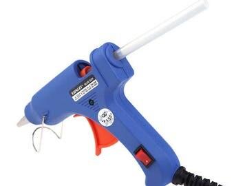 Hot glue gun + 50 glue sticks
