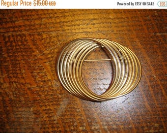 Grand Opening Sale Vintage Alice Caviness 12K Gold Filled Scarf Pin Brooch AC 12K Gold Filled Brooch Pin