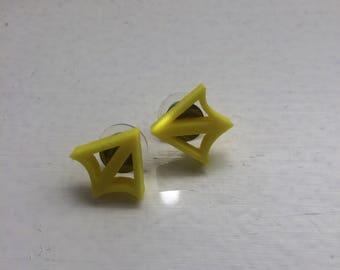 3D Printed Bird Foot Earring